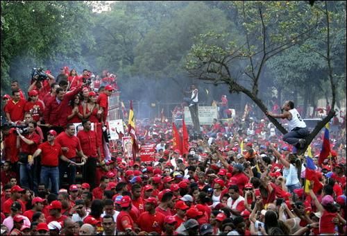 enhorabona al poble de Venezuela