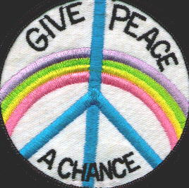 give peace a chance patch