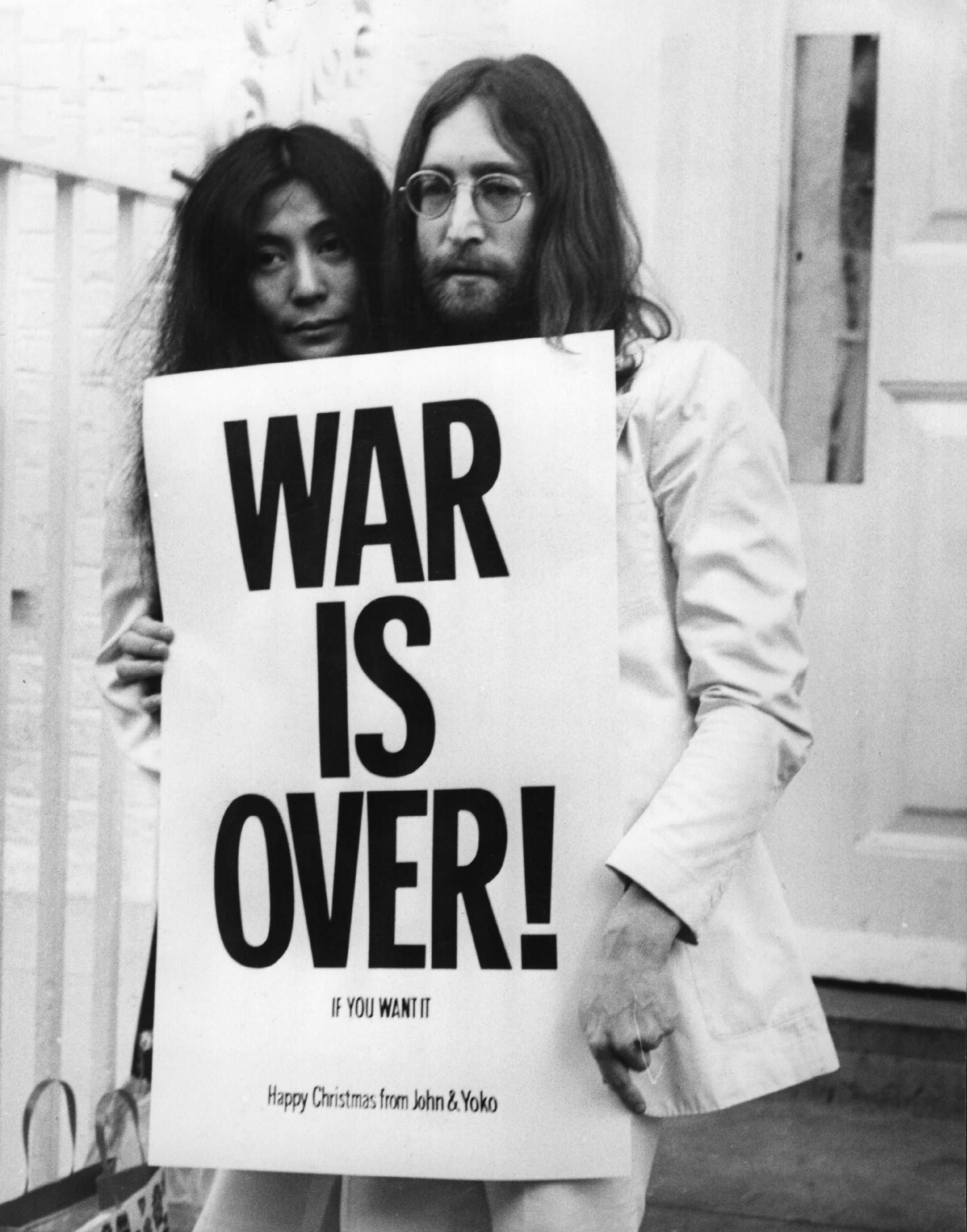 John Lenon & Yoko Ono...!