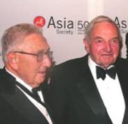 Kissinger y Rockefeller