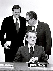 Kissinger y Nixon