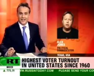 ALEX JONES EN RUSSIA TODAY