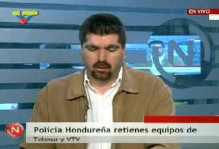 EL PRESIDENTE DE VTV ANUNCIA EL ARRESTRO DE EQUIPOS DE VTV