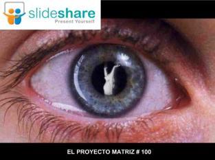 EL PROYECTO MATRIZ EN SLIDESHARE