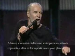 george carlin y el calentamiento global