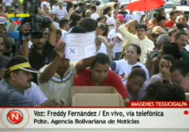 HONDURAS SE MOVILIZA