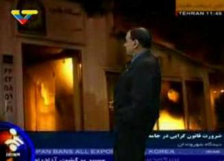 Iran y las revoluciones de color