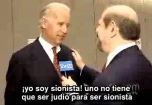 Joe Biden sionista