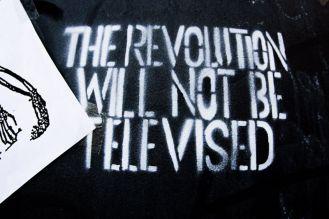 LA REVOLUCION NO SERA TELEVISADA