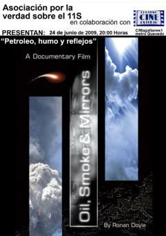 PETROLEO HUMO REFLEJOS PEQUEÑO CINE ESTUDIO