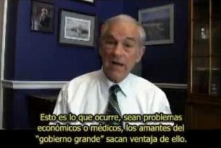 RON PAL ADVIERTE DEL PELIGRO DE LA VACUNACION GRIPE PORCINA