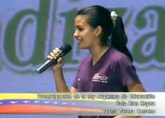 ROSA Y LA LEY ORGANICA DE EDUCACION DE VENEZUELA