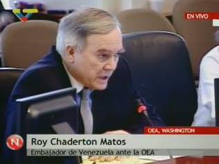ROY CHADERTON EN DEFENSA DEL PUEBLO HONDUREÑO