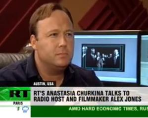 RUSSIA TODAY ALEX JONES