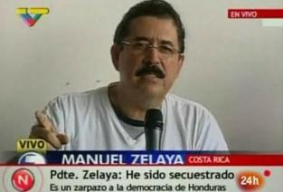 ZELAYA SIGUE SIENDO EL PRESIDENTE DE HONDURAS