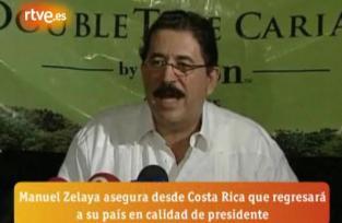 ZELAYA VOLVERÁ A HONDURAS COMO PRESIDENTE