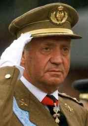 el monarca vitalicio Juan Carlos I