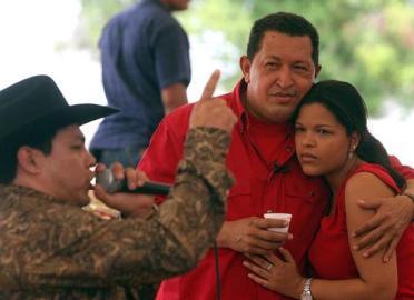 Hugo Chávez en Aló Presidente 2008