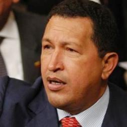 el presidente electo Hugo Chávez