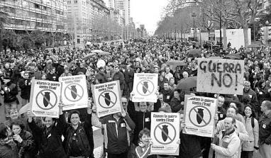 Manifestación en Madrid 2003