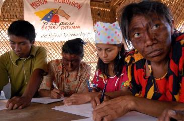Misión Robinson poblados ind�genas