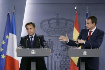 Sarkozy y Zapatero