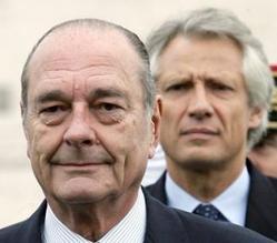Chirac y Villepin