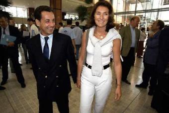 Cecilia y Sarkozy