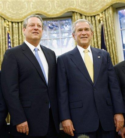 Bush Nobels