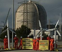 SPAIN-GREENPEACE-NUCLEAR-VANDELLOS