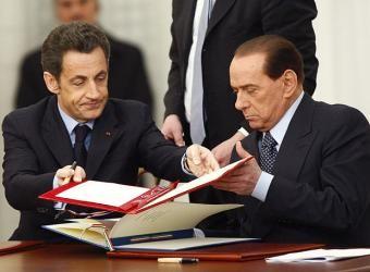 SarkozyBerlusconiAcuerdoNuclear