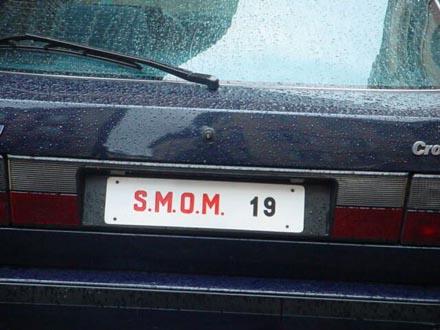6- matricula vehiculo s.m.o.m