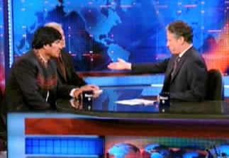 DAILY SHOW EVO MORALES