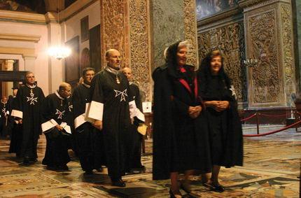 miembros orden malta