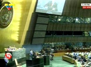 DISCURSO CHAVEZ ASAMBLEA ONU