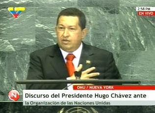 HUGO CHAVEZ Y EL AZUFRE
