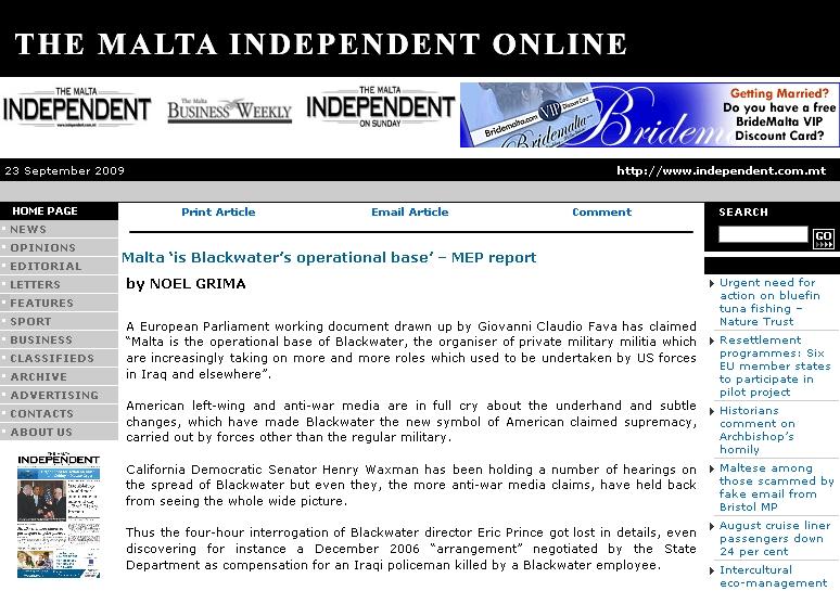 malta independent