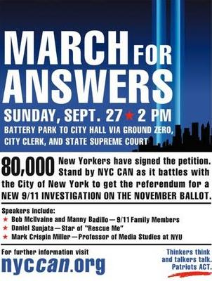 MARCH FOR ANSWERS NYCCAN