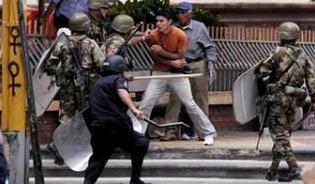 REPRESION EN HONDURAS