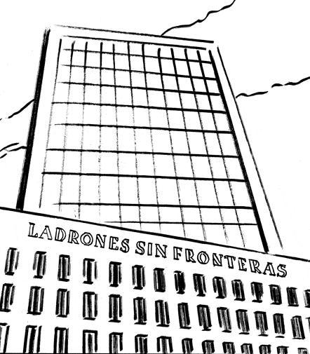 LADRONES SIN FRONTERAS