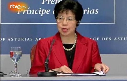 MARGARET CHAN PRINCIPE DE ASTURIAS