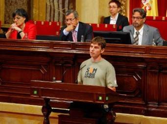 som lo que sembrem al parlament de catalunya