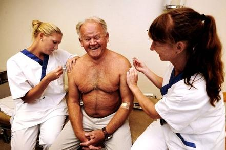 suecia vacuna muertes gripe