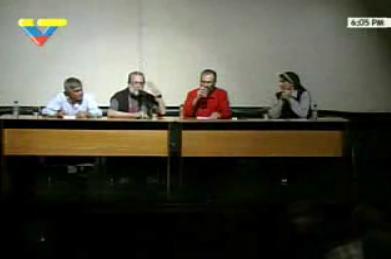 FORO SOBRE LA GRIPE PORCINA EN VENEZUELA TERESA FORCADES MINISTRO SAMAN