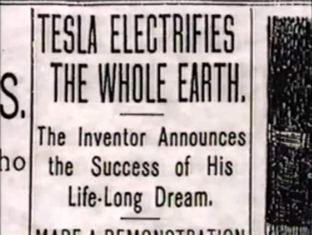 ENERGÍA LIBRE, Nikola Tesla (6/6)